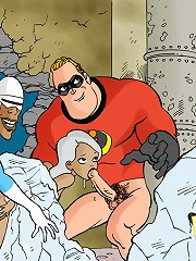 The Incredibles want sex