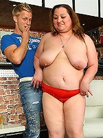 Horny fat girls like to fuck at party