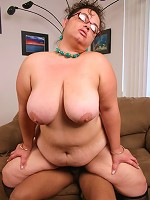 BBW MILF Shianna gets paired with a black guy and gets hardcore doggy style pounding