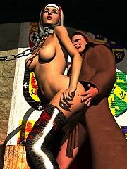 Sexy 3D BDSM Comix