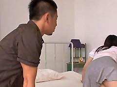 Asian Chicks Trimmed Pussy Was Hungry For A Hard Cock