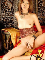 Teen Passorn Playing With Dildo