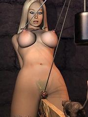 Horny 3D Floosie getting...