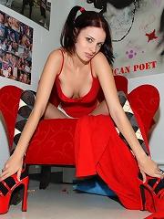 Krissy and her Leg Spreding Madness!