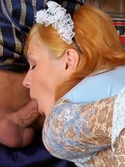 Christina&Hubert horny oldman sex