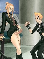Horny chicks with cocks in anime^Shemale Toons Futanari porn sex xxx futa shemale cartoon toon drawn drawing hentai gay tranny