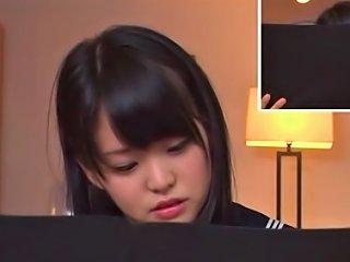 TubeDupe Video - Teen Schoolgirl Kurumi Tachibana Focuses While Vibrated
