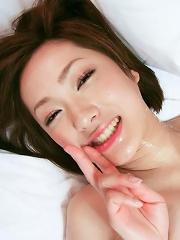 Perky titty Japanese teen Nene Iino pounded hard