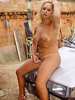 Domy stripping and teasing at Grooby-Archives.com