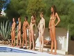 DrTuber Video - Seven Naked Girls Like An
