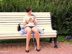 XHamster Video - Jeny Smith Bottomless Public Flash