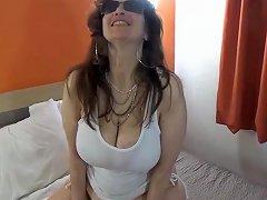 XHamster Video - Tinja Stretches A White T Top And Bikini Bottom Hd Porn D8