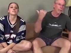 PornHub Video - Grandpa With Very Big Cock Fucks Shameless Teen With Amazing Body
