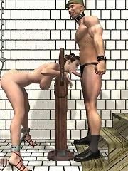 Hardcore BDSM 3D Comix