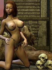 Virgin and unlucky 3D Secretary