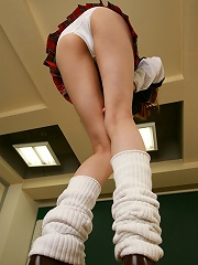 Trampish schoolgirl