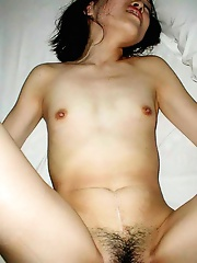 Asian amateur wife deeply banged at home